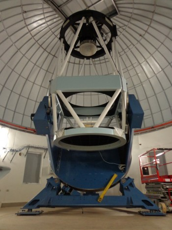 KMTNet의 망원경의 모습. - 한국천문연구원 제공